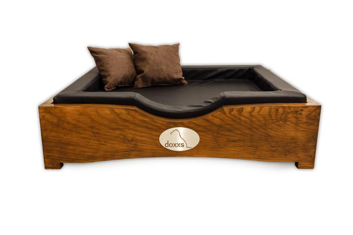 hundebett aus holz pin hundekorb hundebett aus holz mit kissen gr sse on hundebett mit polster. Black Bedroom Furniture Sets. Home Design Ideas